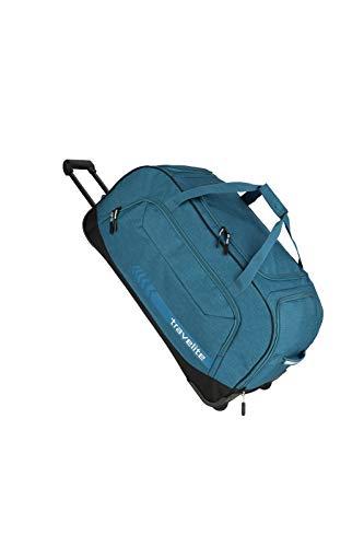 """Travelite Reise- und Sporttaschen """"KICK OFF"""" von travelite in 3 Farben: praktisch, robust und auch zum Ziehen Reisetasche, 77 cm, 120 L, Petrol"""