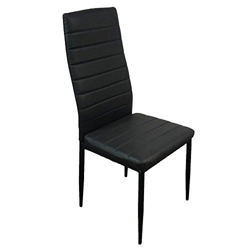 Lovinland Dining Chair Set of 4 Kitchen Chair H...