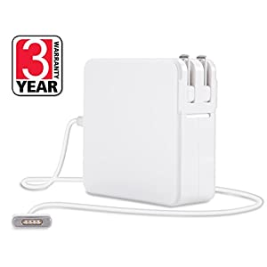 Best MacBook Air/Pro Charger 60W Power Adapter Replacement With MagSafe 2 T-Tip, Works With 45W/60W MacBooks 11/13/15 - Retina Display, Compatible With Apple Macbooks (LATE 2012) & After