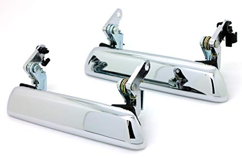 LATCHWELL New PRO-4002432 Chrome Outside Door Handle Set Compatible with Datsun 240Z 260Z 280Z Exterior Nissan (Pair)