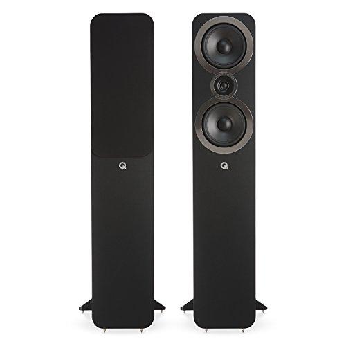 Q Acoustics 3050i Floorstanding Speaker Pair (Carbon Black) 2018 Model
