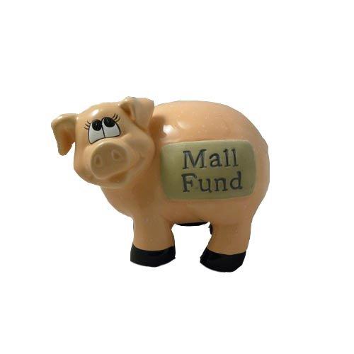 J & D Designs Piggy Bank - Mall Fund * Savings Coins Money - Mall Centerville