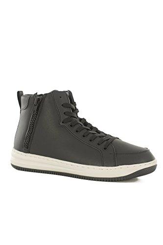 Emporio Armani, Herren Sneaker  Schwarz schwarz 39