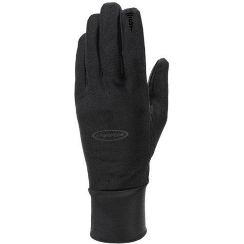 Seirus Innovation Men's Hyperlite All Weather Polartec Glove with Sound Touch Technology, Black, Small/Medium