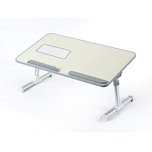 Price comparison product image Laptop Bed Tray, Portable Standing Desk Foldable Sofa Breakfast Adjustable Sit Table, Stand Desk, Ship from USA Directly
