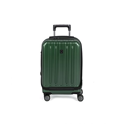 Delsey Helium Titanium 19' International Carry-On Expandable Spinner Luggage, Hunter Green