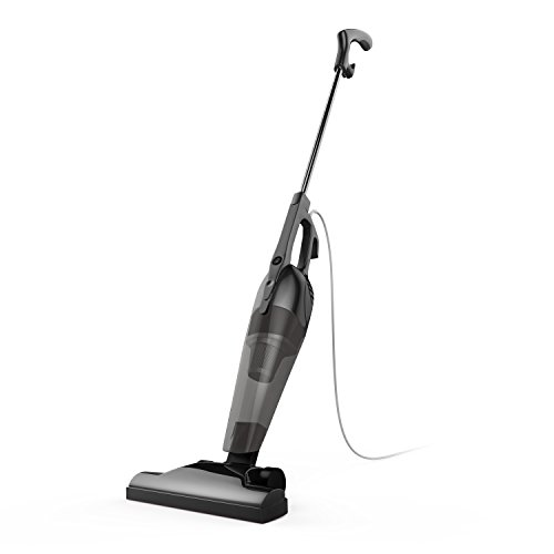 Corded Stick Vacuum Cleaner by BESTEK – Upright and Handheld 2-in-1 with HEPA Filtration