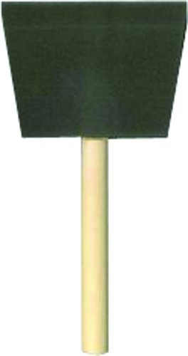 Jen Manufacturing 8500-D  4'' Foam Brush with Wood Handle(Pack Of 24) by Jen Mfg., Inc.