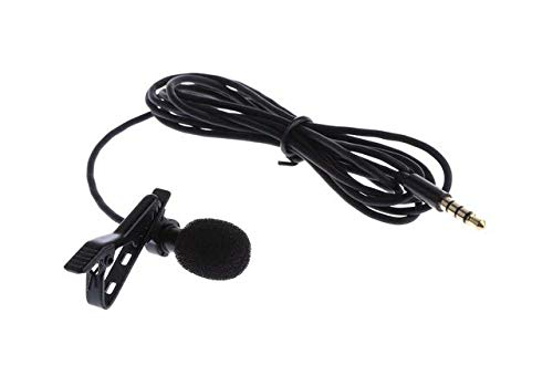 Kytree Professional Grade 3.5mm Lavalier Lapel Microphone Omnidirectional Mic with Easy Clip