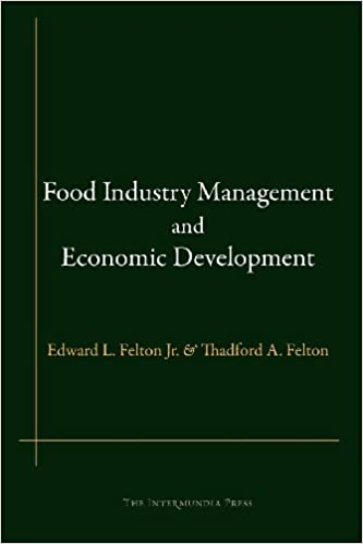 Book Food Industry Management and Economic Development