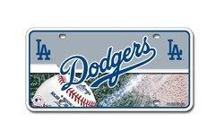 Dodgers Fan - MLB Los Angeles Dodgers Metal Auto Tag