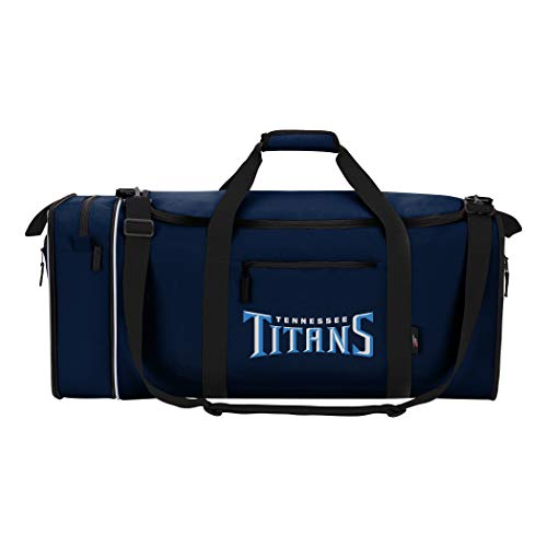 The Northwest Company Officially Licensed NFL Tennessee Titans Steal Duffel Bag by The Northwest Company