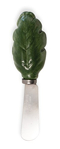 Boston International Ceramic Tri Dish and Spreader, Watermelon by Celebrate the Home (Image #1)