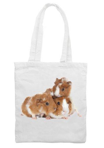 Family Dark Family T-shirt - Tribal T-Shirt Women's Guinea Pig Family Shoulder Shopping Bag One Size White