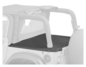 (Bestop 90022-36 Khaki Diamond Duster Deck Cover for 03-06 Wrangler with Factory Hardtop removed)