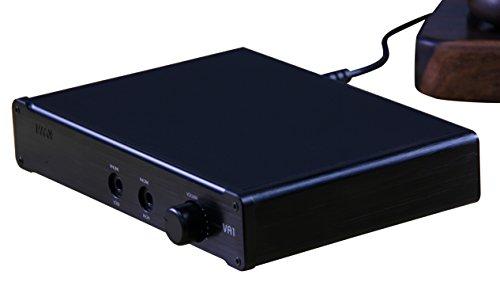 SMSL Audio VA1 Desktop Headphone Amplifier, Black ()