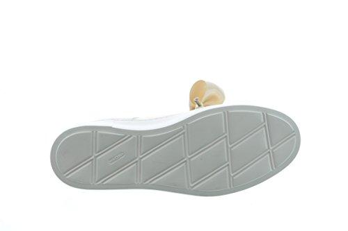 Andrea platino Sneakers Bianco Nuovo Morelli 853 Donna wwUOaTq