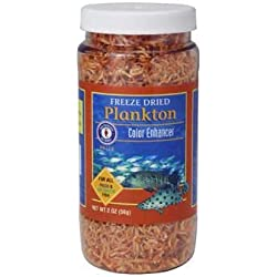 San Francisco Bay Brand ASF71220 Freeze Dried Plankton for Fresh and Saltwater Fish, 56gm