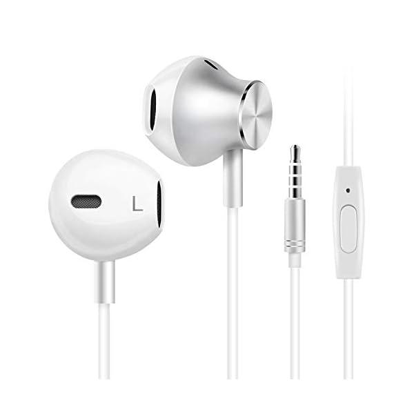Amoner Earbuds Earphones, Headphones Earbuds