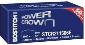 Bostitch stcr211506z graffette per B8/Flat Clinch//B8/New Gen//B8/MINI//B8/Classic quantit/à per confezione 5000/graffette spessore 11/x 6/mm