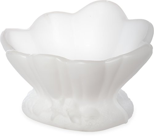 Carlisle SCL102 Clam Shell Ice Sculpture Mold, Single Use, 18