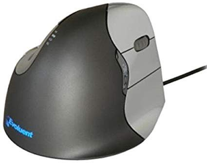 Evoluent VM4R VerticalMouse 4 Right Handed - The Ergonomic Patented Shape