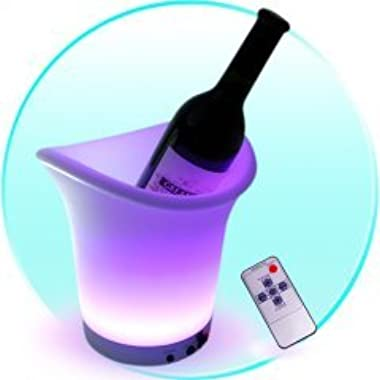 Color Changing LED Ice Bucket (With Remote)