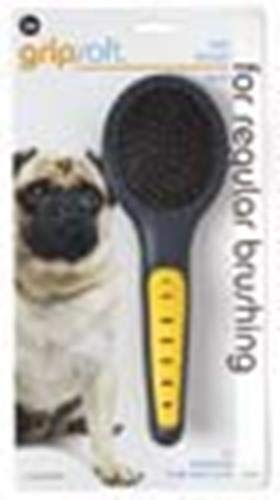 JW Pet Company GripSoft Pin Brush Dog Brush, Small