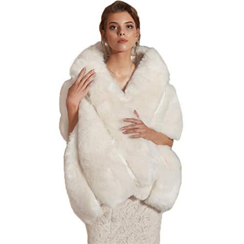 Bettli Women Faux Fur Coat...