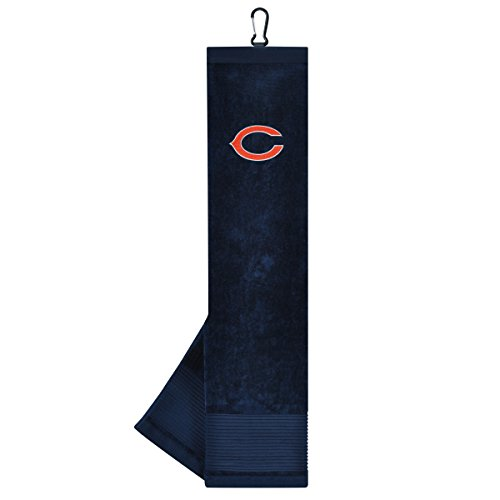 - Team Effort NFL Chicago Bears Face/Club Tri-Fold Embroidered Towel