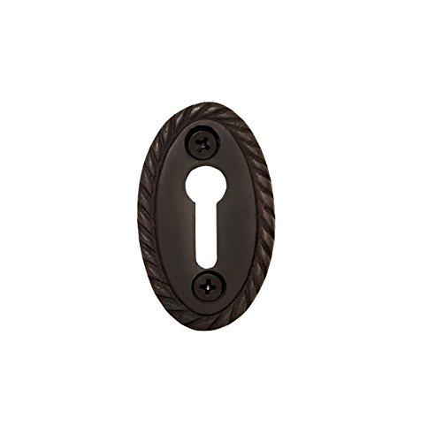 Nostalgic Warehouse Rope Keyhole Cover, Oil-Rubbed Bronze