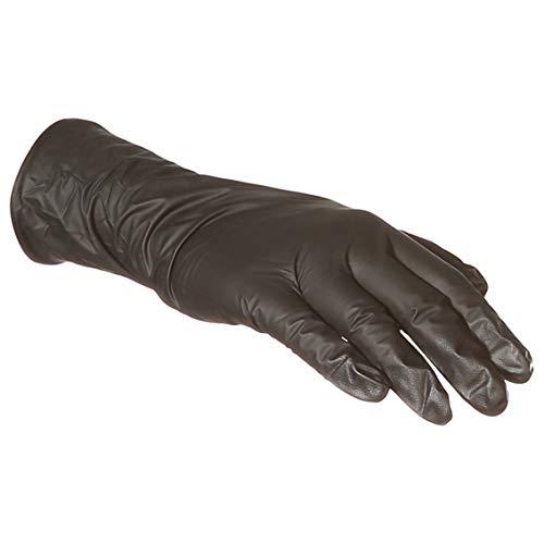 AmazonBasics Powder Free Disposable Nitrile Gloves, 6 mil, Black, Size XXL, 90 per Pack, 10-Pack by AmazonBasics (Image #3)