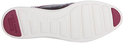 Cole Haan original Gran Wtip Oxford Blanco (Beet Red Snake Print/Optic White)