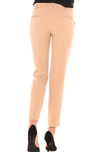 Stretch di Key Chino Cady Pantalone In Beige Donna YSwwdq