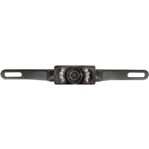 Pyle License Plate Mount (Pyle Plcm10 License Plate Mount Rear View Camera Wide Angle Color Camera)