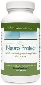 Neuro Protect 100 Pure Polyenyl phosphatidylcholine Concentrate 900mg, 100 ea Softgels phosphatidyl choline