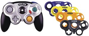 Intec Gamecube Controller - Intec G5020 Gamecube Programmable Controller with 3 Color Changeable Faceplates