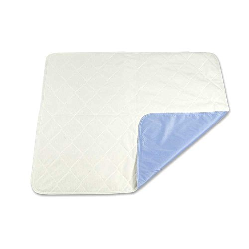 Sahara Extra-Absorbent Washable Underpad,blue and White, 34x36 in., Each