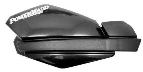PowerMadd 34100 Trail Star Hand Guard - Black