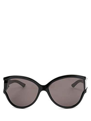 Luxury Fashion | Balenciaga Woman BB0038S001 Black Acetate Sunglasses | Season Permanent