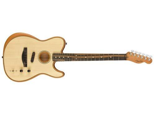 Fender American Acoustasonic Telecaster Acoustic-Electric Guitar Natural