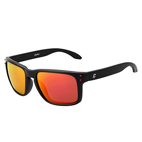 Mobike Polarized Wayfarer Sunglasses Reflective Color Full Mirrored - Mirrored Wayfarer