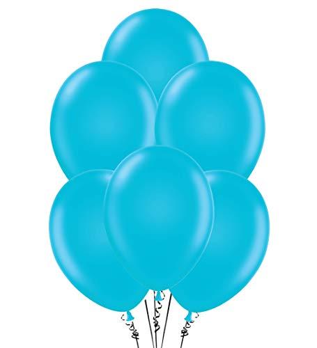 Balloons 12 Inch PARTY-TEX Premium Turquoise Latex Pkg/12