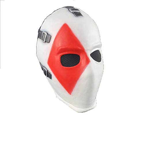 Fortress Night Poker Face Mask, Horror Halloween Bar Dance Cos Props]()