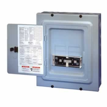 - TRB 4/8 Circuit Indoor Transfer Sub Panel / Link for 60A Generator