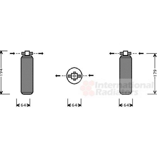 Van Wezel 7400D028 Dryer Air Conditioner