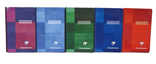 (Pack of 5 Clairefontaine Clothbound Notebook 3.5
