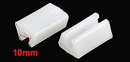8 Pezzi Diametro 10 mm Tappi protettivi per Piedi di mobili e sedie AYUN Colore: Bianco Bianco