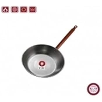 La Ideal_Polished Steel Deep Pan with One Handle, 16 cm