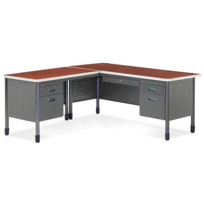 OFM Single Pedestal Panel End Desk - 2 ()